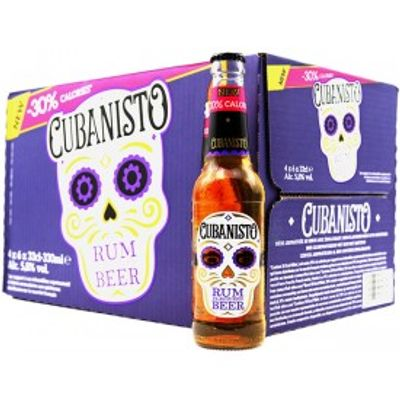 Cubanisto Rum - 24x33cl