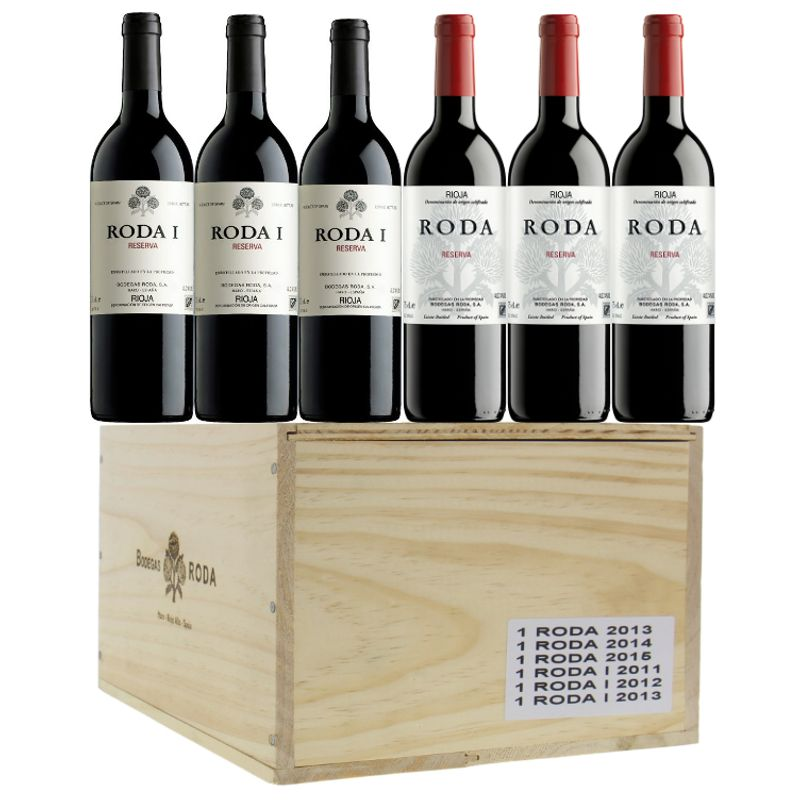 "RODA & RODA 1 ""Reserva' - 6x50cl - 2011 -> 2015 - Rioja - 6x50cl"