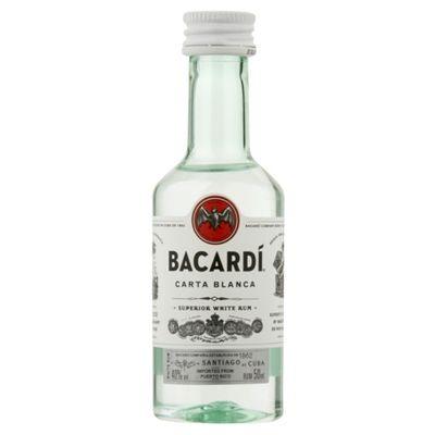 Bacardi Carta Blanca PET - 10x5cl