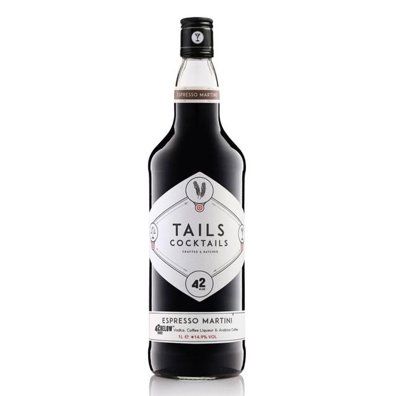 Tails Espresso Martini - Premix - 100cl
