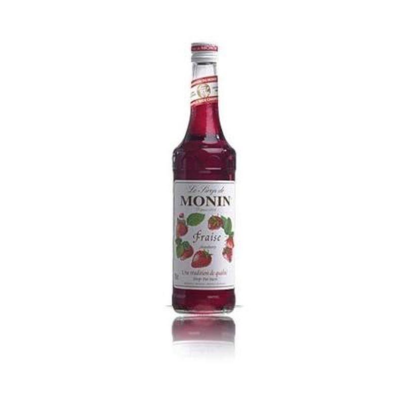 Monin Strawberry / Aardbei - aardbei - 70cl