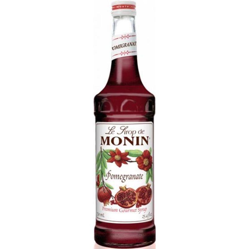 Monin Pomegranate / Granaatappel - granaatappel - 70cl
