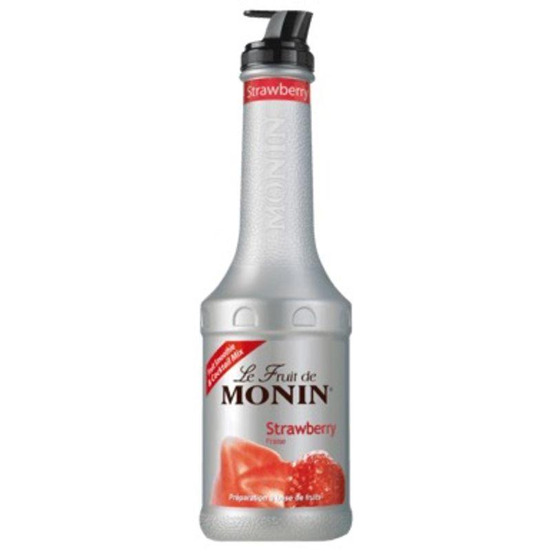 Monin PUREE Strawberry / Aardbei - aardbei - 100cl