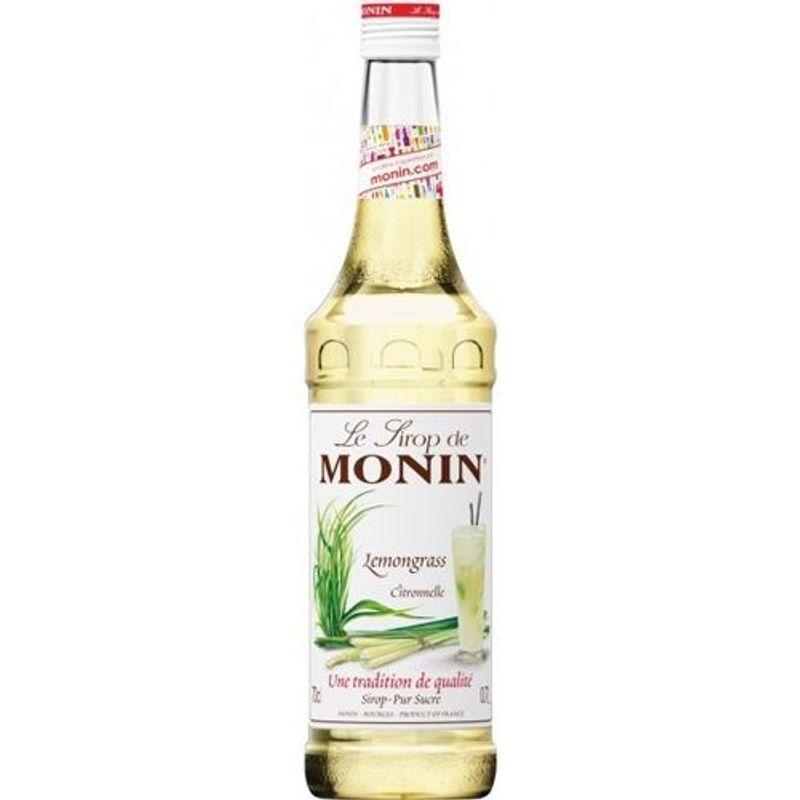 Monin Lemongrass / Citroengras - citroen - 70cl