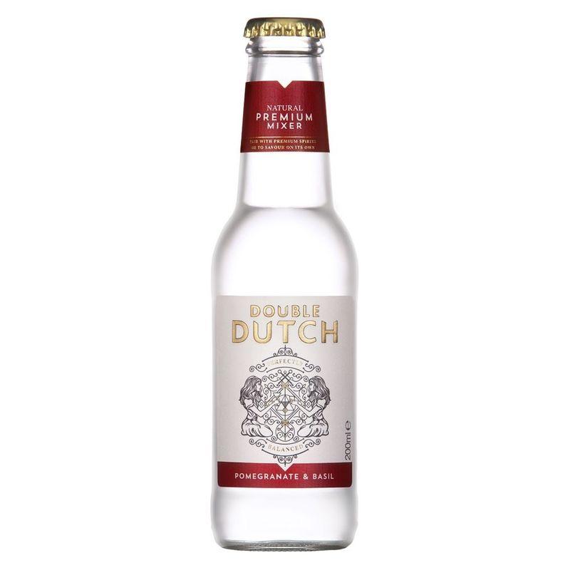Double Dutch Pomegranate & Basil - Per fles - tonic - 20cl