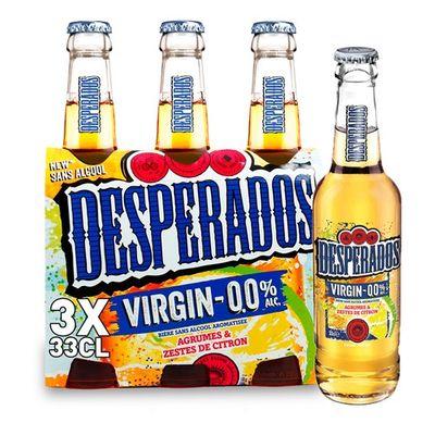 Desperados Virgin 0.0% -  - 3x33cl