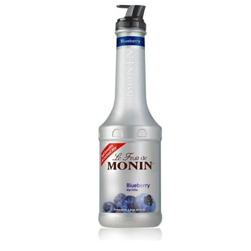 Monin PUREE Blauwe bosbes - framboos - 100cl