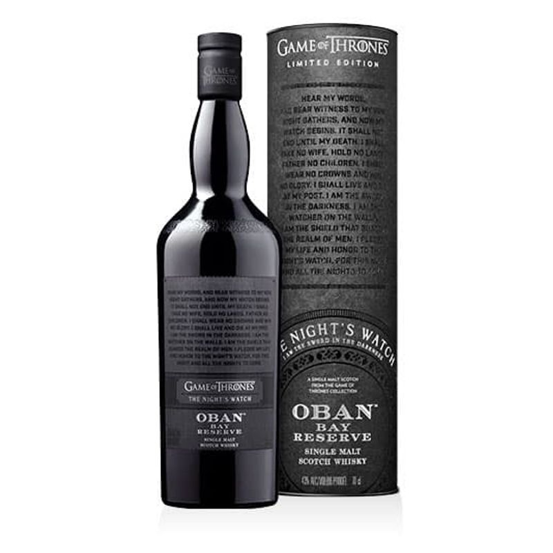 Oban Night Watch GAME OF THRONES - 70cl