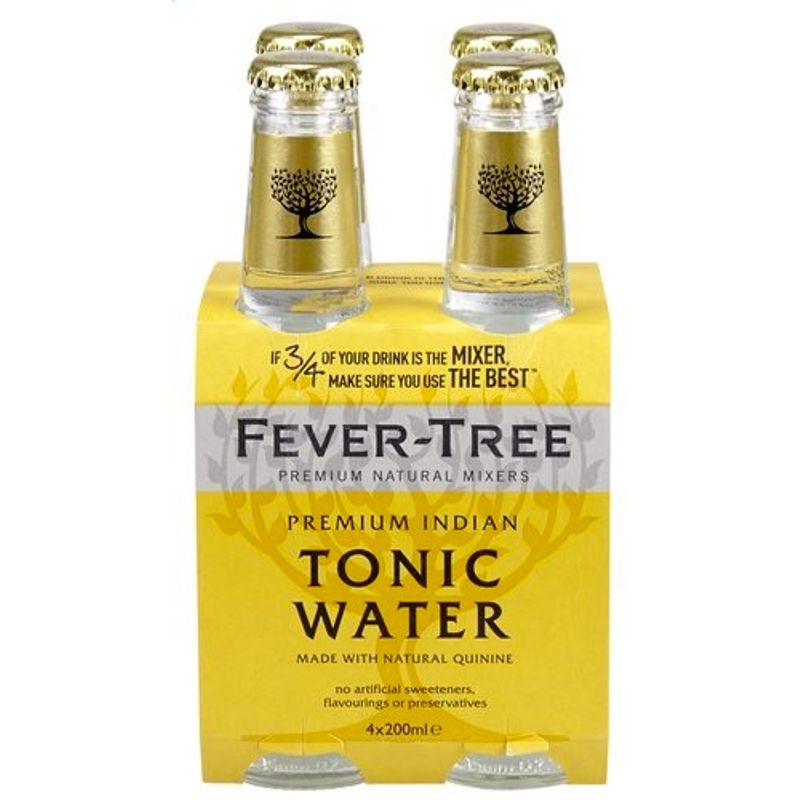 Fever-Tree Indian Tonic Water - tonic - 4x20cl
