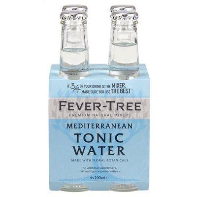 Fever-Tree Mediterranean - tonic - 4x20cl