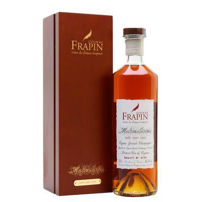 Frapin Multimillesime 1989 - 1991 - 1993 - Cognac - 70cl
